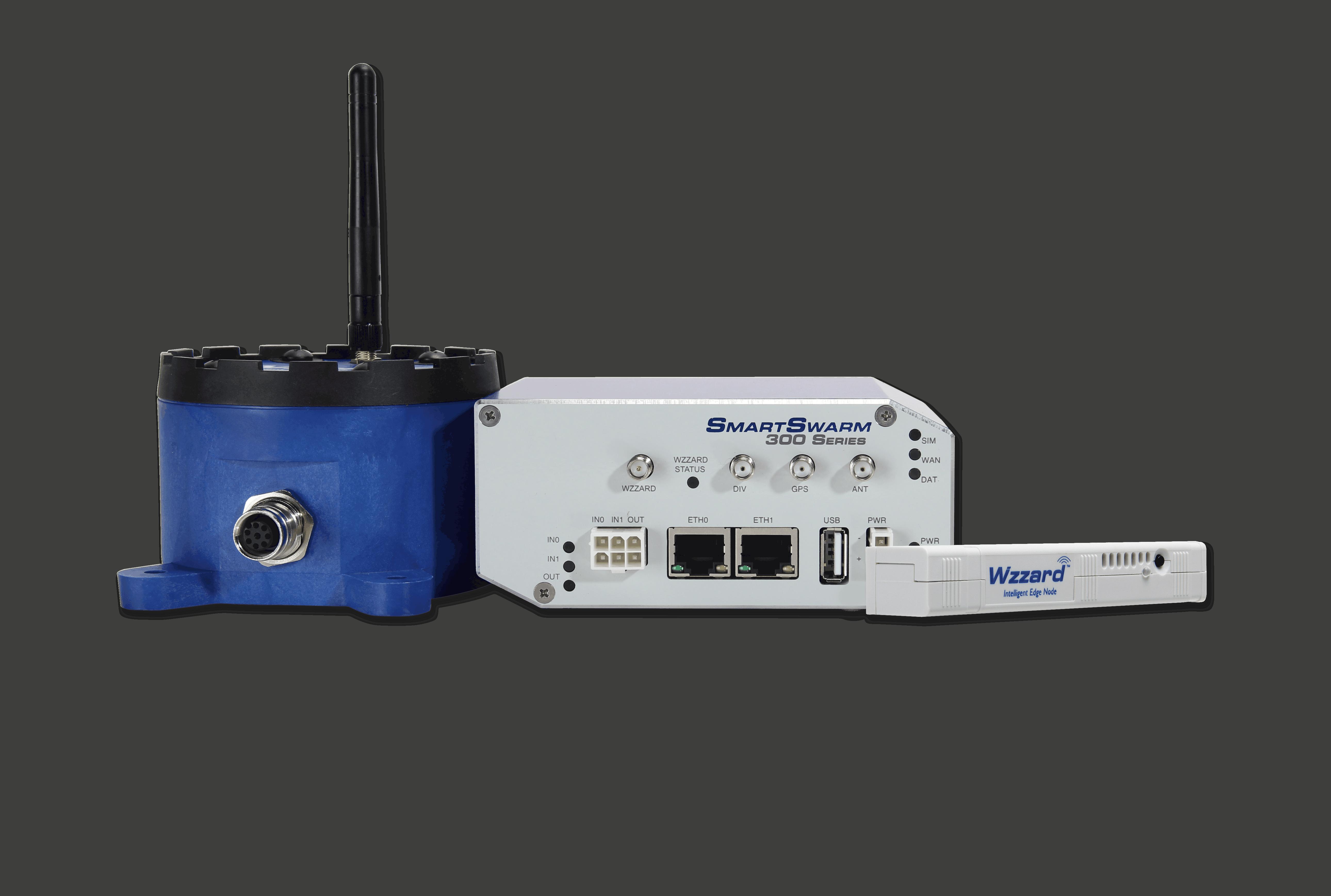 LoRa Gateway, Node und Sensor